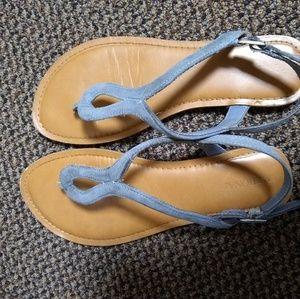 Blue Cute Sandles